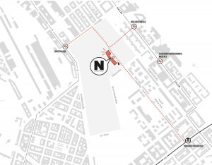 Lageplan Nordbahnhalle